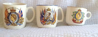 3 Piece Royalty Collection - King Edward Crowned and 2 Elizabeth Coronation 119