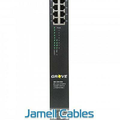 Grove Switch 8 Port Gigabit with 4 Ports POE - ME-GN1004