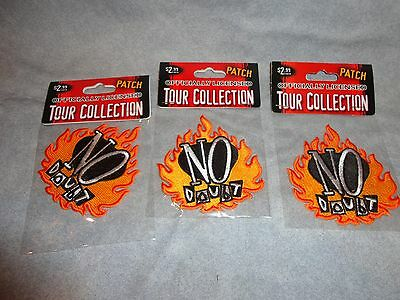 NO DOUBT GWEN STEFANI ROCK AND ROLL PATCH set of 3