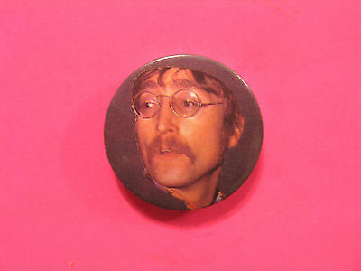 "The Beatles 1"" Vintage Button Badge Pin Uk Made John Lennon"