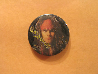 "Vintage Quireboys 1"" Badge Button Pin"