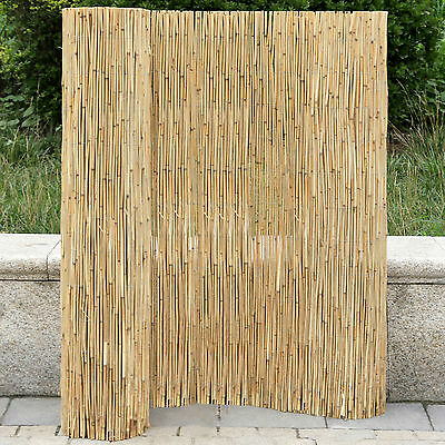 Natural Reed Screening  2*5 M Garden Balcony Wind Protection Privacy  Fencing