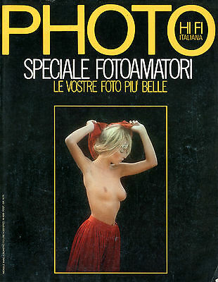 """PHOTO HI FI ITALIANA""- RIVISTA FOTOGRAFICA-(PHOTO MAGAZINE) n.110 AGOSTO 1984"