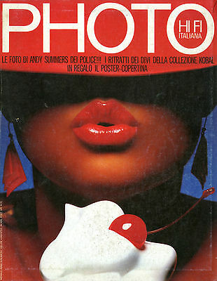 """PHOTO HI FI ITALIANA""- RIVISTA FOTOGRAFICA-(PHOTO MAGAZINE) n.106 APRILE 1984"