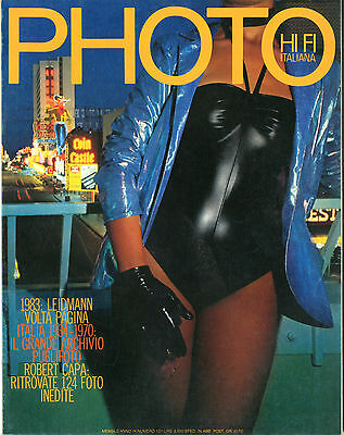 """PHOTO HI FI ITALIANA""- RIVISTA FOTOGRAFICA- (PHOTO MAGAZINE)n.101 NOVEMBRE 1983"