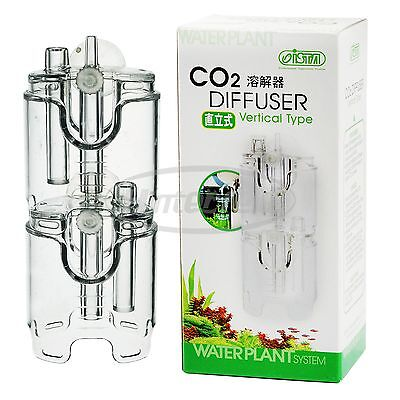 NEW ISTA Plastic Vertical Type CO2 Reactor Diffuser for Aquarium Plant System