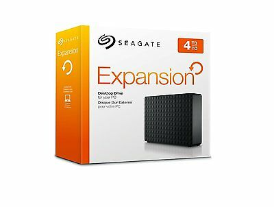Seagate Expansion 4TB USB 3.0 Desktop  External Hard Drive for PC Xbox One PS4
