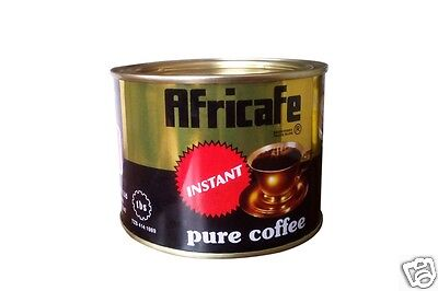 Africafe Instant Pure Coffee Powder Robusta Arabica  Tanzania Kenya 100 gms Tin