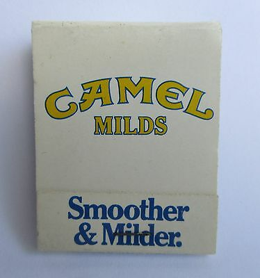 Camel Milds Cigarettes complete matchbox matches for home bar pub or collector