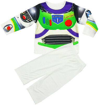 New Sz 2-6 Kids Toy Story Buzz Costume Boys Dress Up Party Toddler Birthday Gift