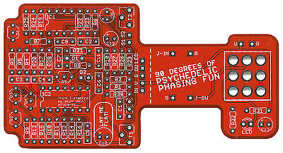 Phase 90 Phaser Clone - Pro Fabricated PCB for DIY Stompbox Build