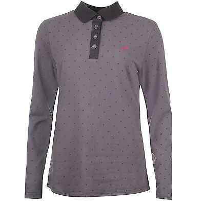 *SALE* Harry Hall Belby Ladies Polo Shirt - Grey