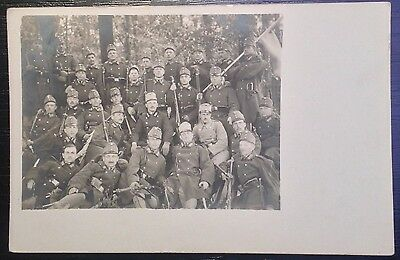 Photo postcard Austro-Hungarian soldiers (43.)