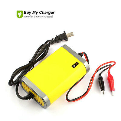 12v Volt 2A AMP Car Motorcycle Battery Charger Rechargeable 220V AC