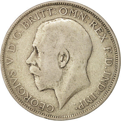 [#413360] Great Britain, George V, Florin, Two Shillings, 1920, VF(20-25)