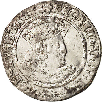 [#413114] Great Britain, Henry VIII (1526-1544), Gros, London, Silver