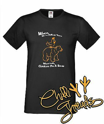 Chicken on a Bear, Bon music funny T-shirt premium t shirt t-shirt Jovi