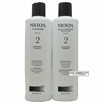 Nioxin System 2 Cleanser & Scalp Therapy 300 mL / 10.1 Fl. Oz.