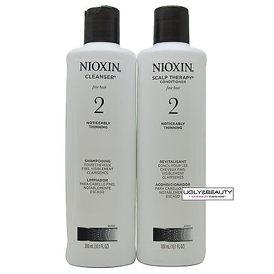 Nioxin System 2 Cleanser & Scalp Therapy duo 300 mL / 10.1 Fl. Oz.
