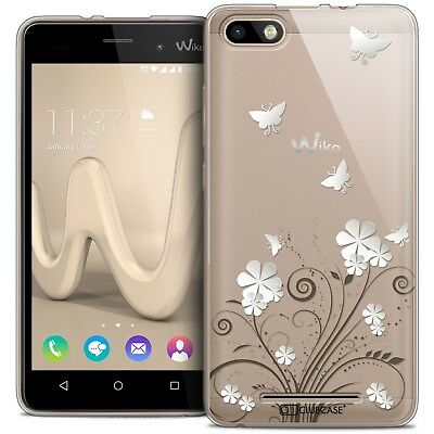 Coque Crystal Gel Wiko Lenny 3 Extra Fine Souple Summer Papillons