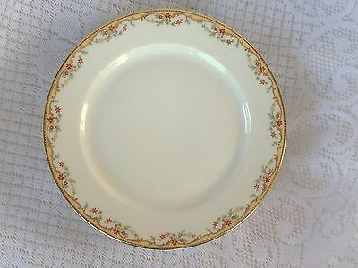 """5 Vignaud Limoges """"Meuse"""" France Salad Plates 7 1/2 inches - 2 sets avail (139)"""