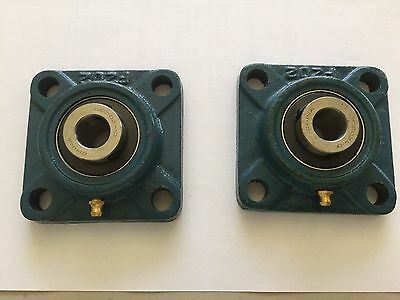 "2 pcs of 5/8"" UCF202-10 pillow block bearing"