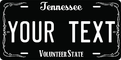 Tennessee State Shaped Unique Auto CAR Custom Tag Personalized License Plates