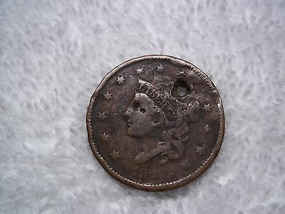 1836 Large cents U.S. (lot of 1) well circulated  HOLED #L22.2.2