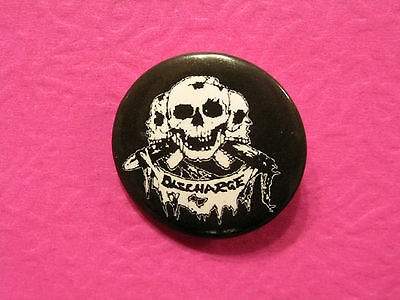 New Discharge Button Pin Badge Uk Made Punk