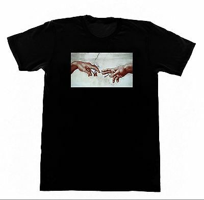 Leonardo Da Vinci - Sistine Chapel Drug Deal Cocaine from God Shirt D28 Tshirt