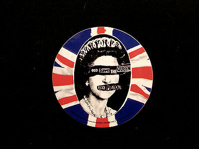 """New Sex Pistols Coaster """"god Save The Queen"""""""