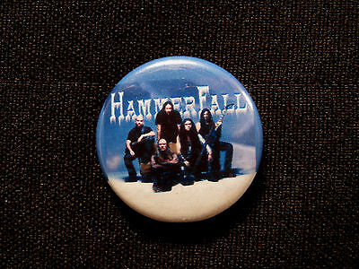 Hammerfall New Button Badge Pin Uk Import Celtic Frost