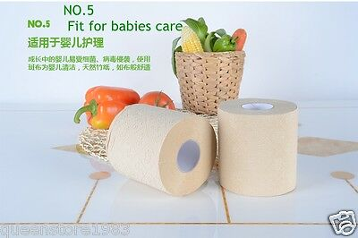 2 PCS Roll bamboo Food-grade tissue/napkin /toilet paper for babies//Pregnant