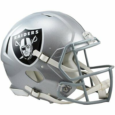 Riddell Revolution Authentic Helmet - NFL Oakland Raiders