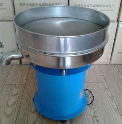 Vibrating Sieve Machine Screen Powder Machine Electrostatic Powder Screening   T