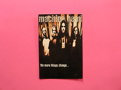 """Machine Head Official 1997 Postcard Uk Made  """"group"""""""