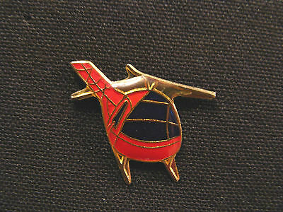 Small Helicopter Vintage Lapel Pin Uk Import
