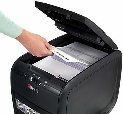 Rexel Cross Cut Paper Shredder, 60 Sheets, No Need to Remove Staples - Quite Run
