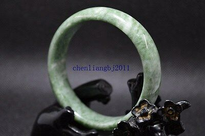 61mm beautiful bangle  Natural Chinese yellow jade hand-carved bracelet