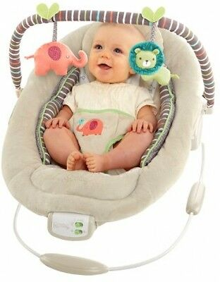 Comfort&Harmony Cradling Baby Bouncer Seat, Extra Cushioned, Vibration, 7 songs