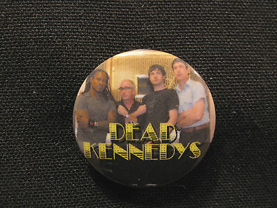 "Dead Kennedys 1"" Button Pin Uk Made New Group"