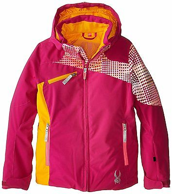 Spyder Girls Ski Snowboarding Project Jacket, Size 16 (Girl's), NWT