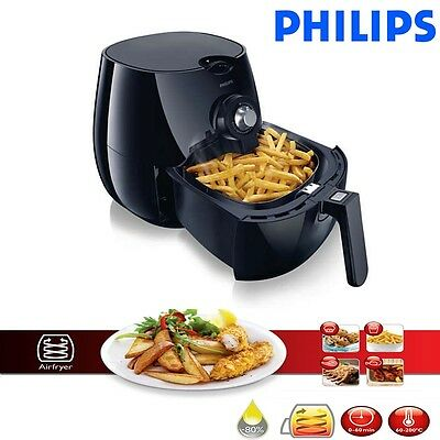 Philips Healthier Oil Free Air fryer, Black Low Fat Fryer, MultiCooker Non Stick