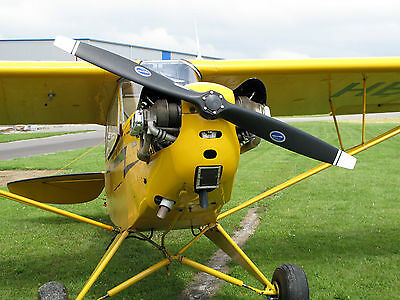 50% Scale Piper Cub, 18+ ft  Giant Scale RC AIrplane Printed Plans & Templates