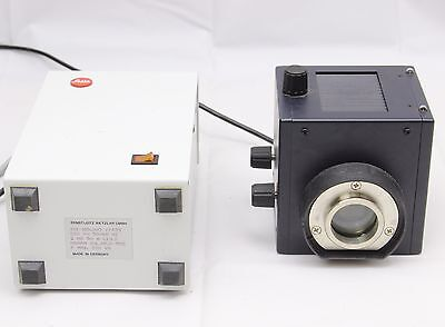 Leica Leitz 220v 50w HBO Mercury Lamp Power Supply DMRBE DMRB Microscope