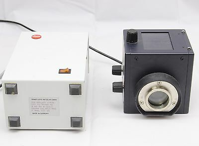 Leica Leitz 50w HBO Mercury Fluorescence Lamp Power Supply DMRBE DMRB Microscope