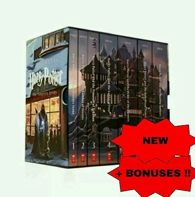 BONUS MADNESS!! Harry Potter Special Edition Box Set Collection by J. K. Rowling