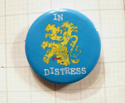 "The Big Bang Theory 1"" Button Badge Official ""distress"""