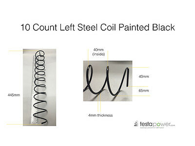 Vending machine coils / springs 10 count spiral left