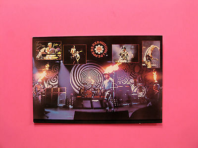 Official 1992 Vintage Red Hot Chilli Peppers Postcard  Uk Made